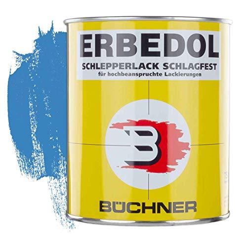 Schlepperlack | LICHTBLAU | RAL 5012 | 0,75 l | restaurieren | Traktor | lackieren | Farbe | Trecker | Frontlader | Lack | Lackierung | Farbton | schnelltrocknend | deckend