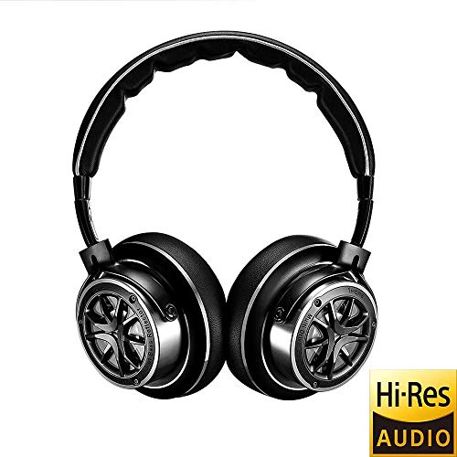 1MORE Triple Driver Kopfhörer Over-Ear Headset (Hi-Res Audio,faltbar,Aluminium Kopfband) - H1707, Silver