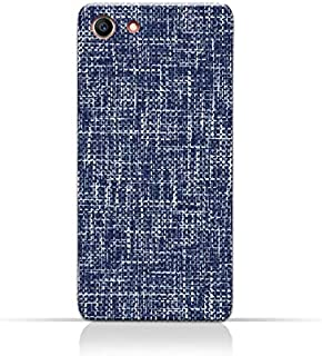 AMC Design Oppo A83 TPU Silicone Case with Brushed Chambray Pattern