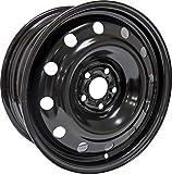 RTX, Steel Rim, New Aftermarket Wheel, 16X6.5, 5X100, 57.1, 44, black finish X99121N