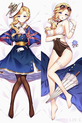 Huokan Azur Lane Hood 150cm(59in) Peach Skin Japanese Pillowcases