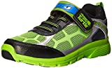Stride Rite Tmnt Radical Reptiles Lighted Running Shoe, Green, 3 M Little Kid