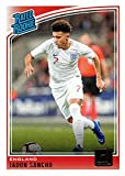 2018-19 Panini Donruss Soccer #189 Jadon Sancho Rookie Card - Rated Rookie. rookie card picture
