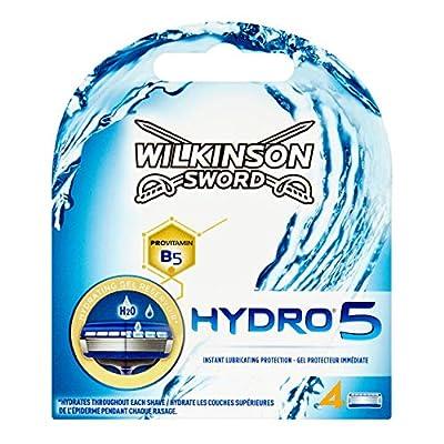 Wilkinson Sword Hydro 5 Men's Razor Blade Refills x 4