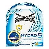 Wilkinson Sword - Hydro 5 - Lames de rasoir pour Homme - Pack de 4 lames