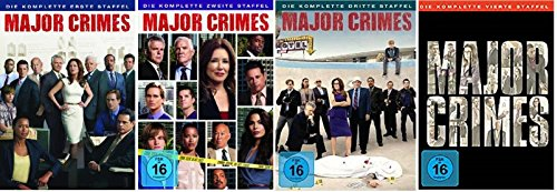 Major Crimes - Season / Staffel 1+2+3+4 (1-4) * DVD Set