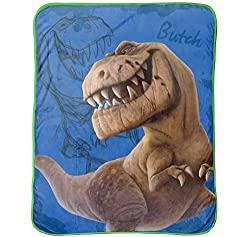 4. Jay Franco Disney The Good Dinosaur Butch Throw Blanket
