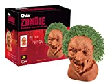 Chia Pet Zombie - Creepy Holden with Seed Pack, Decorative Pottery Planter, Easy to Do and Fun to Grow, Novelty Gift, Perfect for Any Occasion