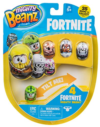 MIGHTY BEANZ, Fortnite 4 Pack (Styles May Vary) Toy, 1'