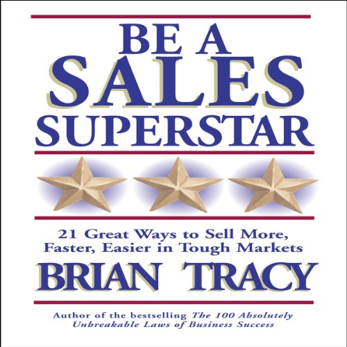 Be a Sales Superstar audiobook cover art