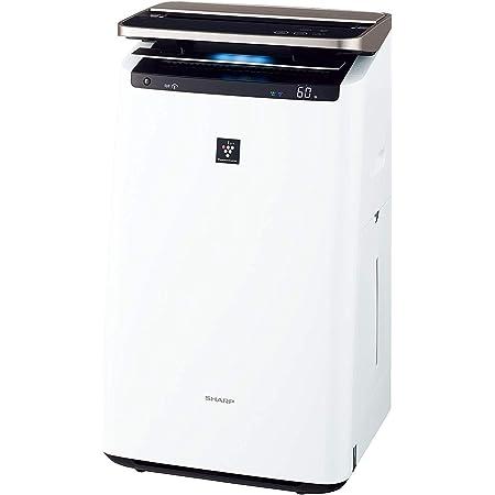 シャープ 加湿 空気清浄機 プラズマクラスター NEXT(50000) プレミアム 23畳 / 空気清浄 40畳 自動掃除 2018年モデル ホワイト KI-JP100-W