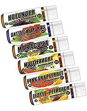 C.P. Sports Drankconcentraat 25 ml monster – 6 smaken Test Mix G – suikervrij, calorievrij, aspartamvrij – verhouding 1:80 – L-carnitine, vitaminen – sportconcentraat siroop drankensistroop
