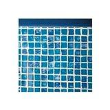 GRE - Liner per piscine, ovale, altezza: 1,20 m x lunghezza: 7,30 m x larghezza: 3,75 m...