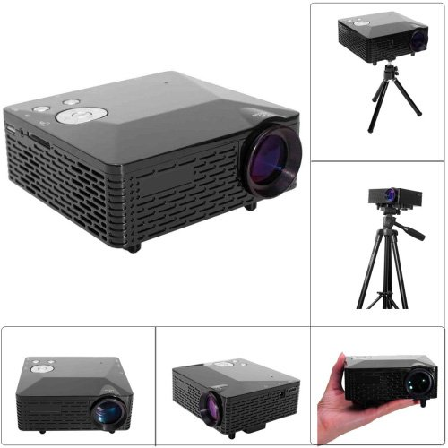 Factory-OEM LP-6B LCD Home Theater Projector SVGA (800x600) 3000 Lumens LED 4:3/16:9