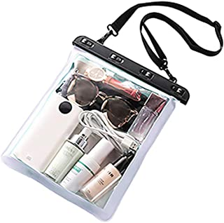 Joick Waterproof Shoulder Bag Swimming Surfing Beach Water Playing Phone Transparent Toiletry Pouch