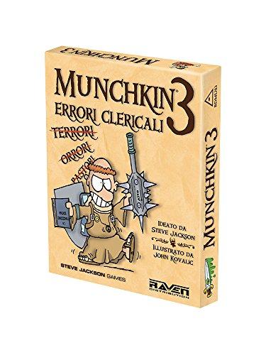 Raven Munchkin 3-Errori Clericali-Nuova Ed, RDMU03