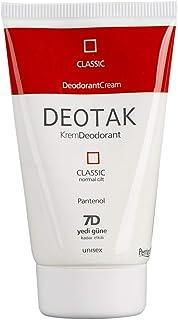 Normal Ciltler İçin Klasik Krem Deodorant 35 ml 1 Paket(1 x 35 ml)