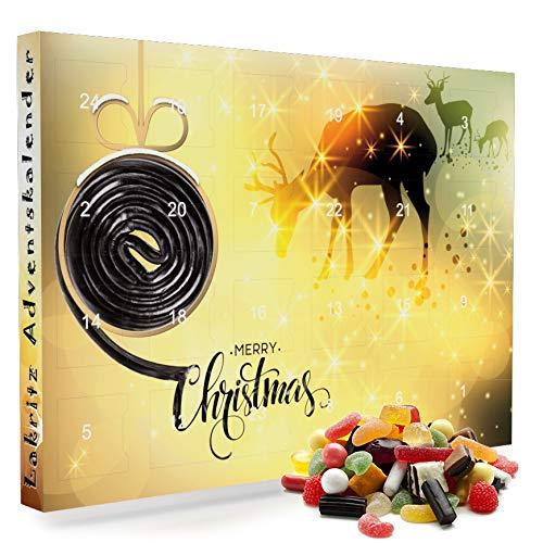 C&T Lakritz Adventskalender 2020   24 salzige & süße Lakritz-Sorten für den Advent   Mischungen mit hochwertigem Salmiak   Weihnachts-Kalender für Feinschmecker & Liebhaber