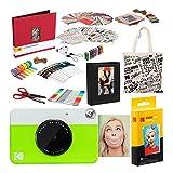 Kodak Printomatic Fotocamera istantanea (Verde) Pacchetto Deluxe...