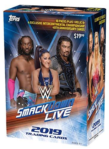 Topps 2020 WWE Smackdown Value Box