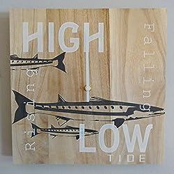 OldBleu Tide Clock Timer - Handmade - Nautical - for The Fisherman