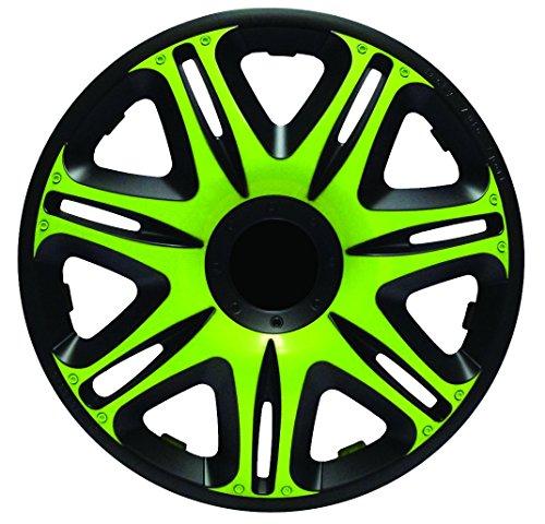 Simoni Racing NAS/14G Radzierblenden Sie Nascar Monster 14 Zoll, Schwarz und Grün