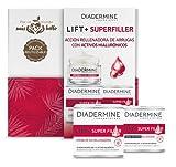 Diadermine - Cofre Compostable Y Biodegradable Super Rellenador - Crema De Día Super Rellenador 50ml + Crema De Noche Super Rellenador 50ml - Pieles Maduras - Con Micro Cápuslas De Ácido Hialurónico