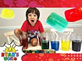 Ryan Grows Giant Squishy Water Cubes!