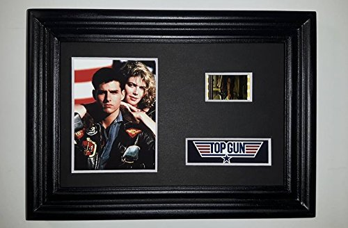 TOP GUN Framed Movie Film Cell Display Collectible Memorabilia Complements Poster Book Theater
