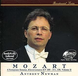 Mozart: Fortepiano Sonatas 7-10 Volume II