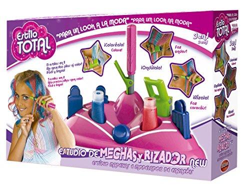 Mechas de colores para niñas