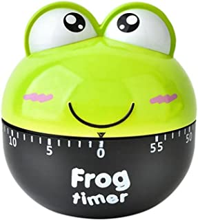 Exteren Cartoon Animal Timers Mechanical Kitchen Cooking Timer Manual Timer Counters Alarm Clocks (B)