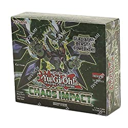 top 10 yugioh booster boxes Yugioh Chaos Impact Booster Box 1st Edition TCG 24 Pack Factory Seal