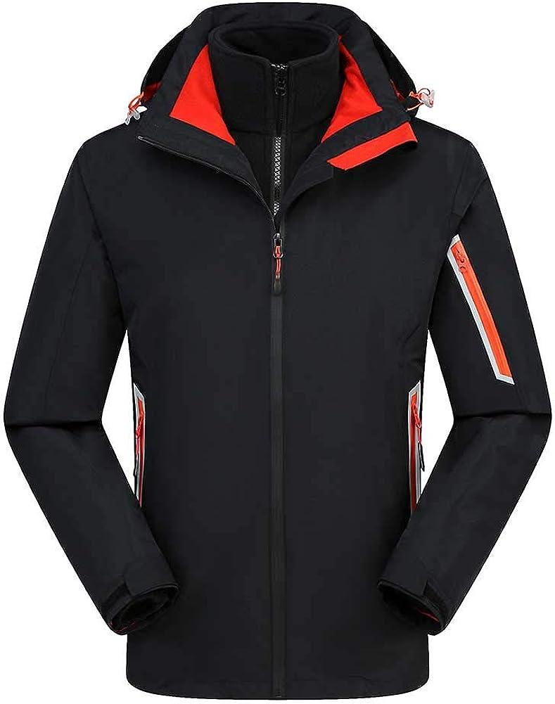 2021 spring and summer new RSTJ-Sjcw 3-in-1 Waterproof Ski Jacket Puff Max 88% OFF Men - Adju for Liner