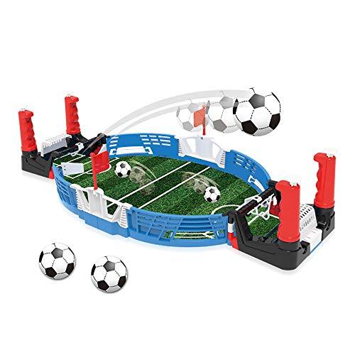 Mini Tafelblad Voetbalspel Desktopvoetbalspel Tafelsporten Bordspellen voor 2 Spelers voor Gezinnen met Kinderen