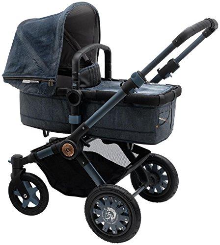 Fantastic Deal! Bugaboo Buffalo Special Edition Diesel Stroller - Denim