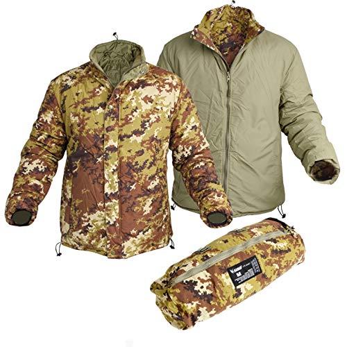 SBB Lite Jacket Reversibile Vegetato Italiano Giubbino Esercito (L)