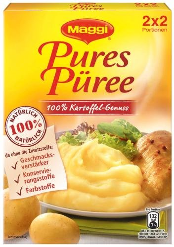 Maggi Pures Püree, 12er Pack (12 x 120 g Packung)