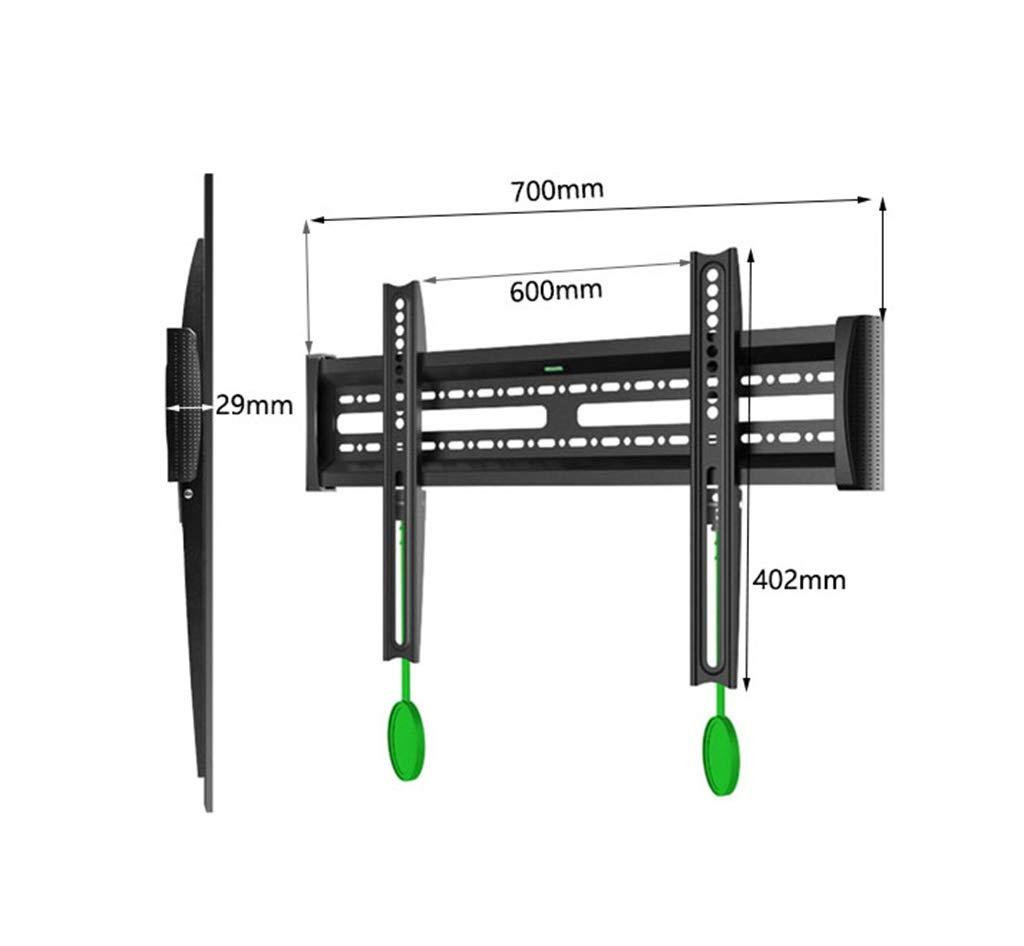 WUDAXIAN Soporte de Pared inclinable para TV de 40-65 Pulgadas Capacidad de Carga de 120 LB con Nivel de Burbuja: Amazon.es: Hogar