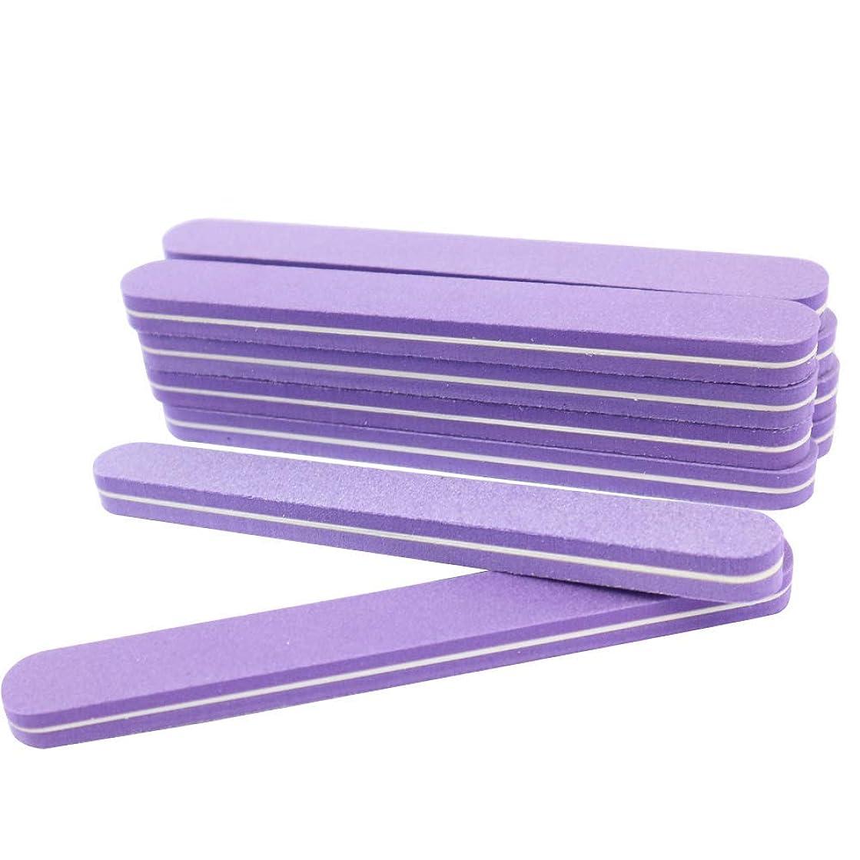 大通りインド彼(値下げ)ネイル用 2WAYシャイナー 10本セット おうちで爪磨き 選べる2タイプ (形状:ストレート)