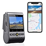 VIOFO A129 Plus Dash Cam 2K 1440P 60FPS with GPS Wi-Fi, 140° Wide Angle, HDR, Parking Mode, Emergency Recording, Super Capacitor, Motion Detection