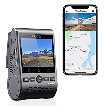 VIOFO A129 Plus Dash Cam 2K 1440P 60FPS with GPS Wi-Fi 140° Wide Angle HDR Parking Mode Emergency Recording Super Capacitor Motion Detection
