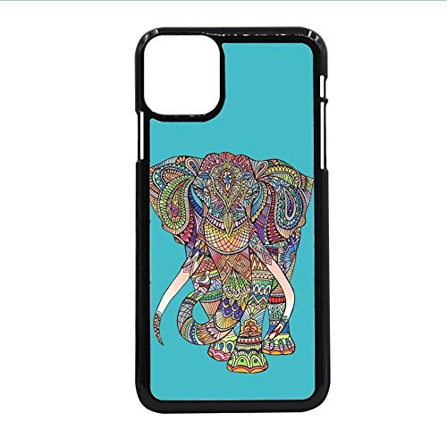 Printing Colorful Elephant Drawing 4 Use As Samsung S10 Lite For Children Interesting Abs Phone Shells Choose Design 83-1