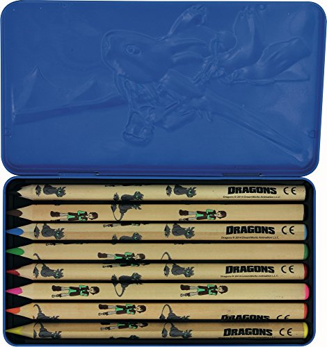 Stylex 51005 Dragons Jumbo Dreikant Buntstifte, blau
