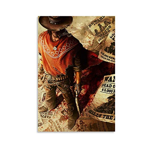 BUGUAN Call of Juarez Gunslinger Cover - Póster decorativo para pared (20...