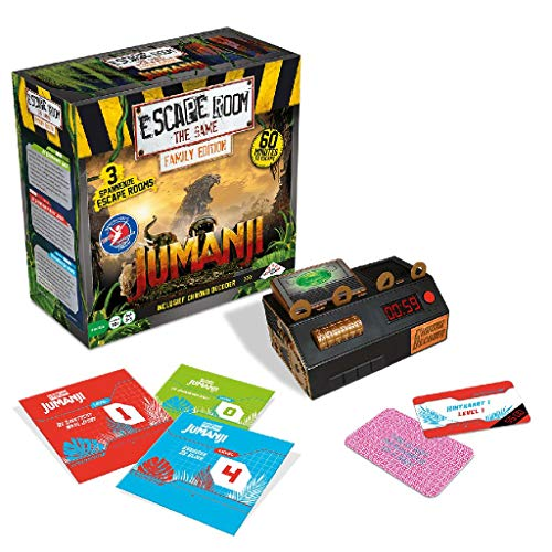 Identity Games Escape Room The Game: Jumanji Family Edition - Juego de Tablero