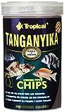 Tropical Tang anyika Chips–Ingrediente reiche, sinkende Forro Especial de Chips para Grandes Tang anjika Mar de cichliden, 1er Pack (1x 1l)