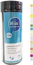 Stronrive 100pcs Medidor De PH 17 En 1 Agua De Piscina Test SPA De Tiras De Prueba De Test, PH/Cloro/Alcalinidad/Ácido Cianúrico Y Dureza del Agua