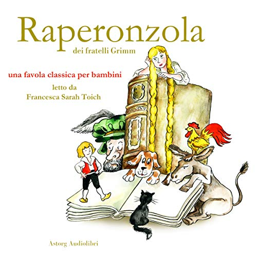 Raperonzola audiobook cover art
