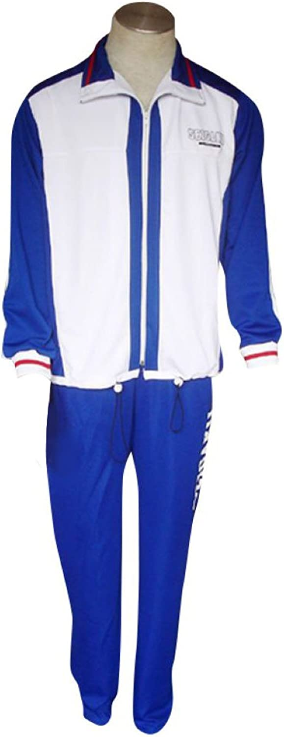 Dream2Reality Japanese Anime Prince of Tennis Cosplay Costume - Seigaku High School Winter Sport Outfit XX-Small
